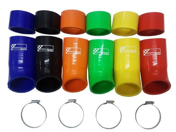 Ford Focus RS Mk3 Air Induction Silicone Hoses With Stainless Steel Clips - GGF7001